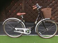 Raleigh caprice Dutch style step through cycle .