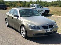 BMW 5 Series 2.2 520i SE 4dr 3 M Warranty, Service History, One Year MOT