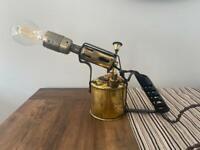 Vintage Bladon blow torch lamp