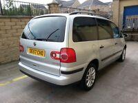 ***CHEAP 2007 VW SHARAN 2.0 TDi SE 140 [6SPEED] £3195***Turbo Diesel bargain 7 seater smax s-max