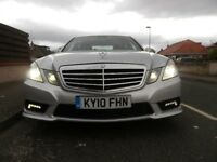 mercedes E250 sport cdi silver 10 plate low miles 60 000 £8200