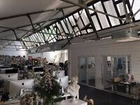 Amazing WarehouseSpace in LondonFields.Over 3000sqft. Self Enclosed Kitchen 2 meeting rooms. Hackney