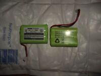 Spare Batteries – Motorola MBP36 Digital Baby Monitor