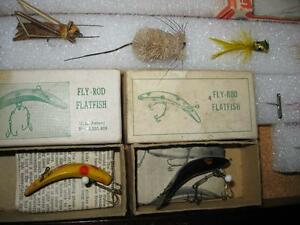 ANTIQUE FLYROD LURE COLLECTION Kawartha Lakes Peterborough Area image 4