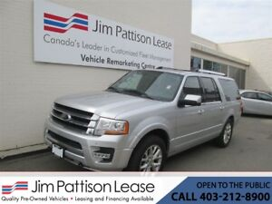 2017 Ford Expedition Max 3.5L ECO-Boost 4X4 Limited LOADED 8 Pas