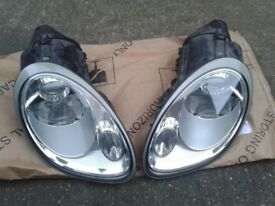 GENUINE PORSCHE BOXSTER 987 CAYMAN XENON HEADLIGHTS & BULBS & BALLASTS