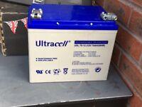 Ultra cell 12v car battery brand new
