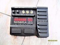Zoom GFX707 guitar effects processor