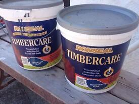 27 litres Blue Ronseal Fence Paint.