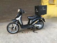 2013 Piaggio Liberty 50cc Scooter Moped Delivery Bike
