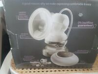 Tommee tippee Electric breast pump. Used briefly. Sterilised for new user