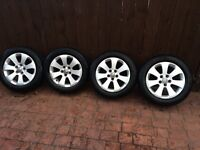 "vauxhall insignia 17"" alloys with quality continental tyres bargain"