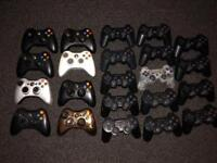 Ps3 and Xbox 360 official controllers