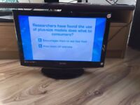 "Tecknika 21"" LCD TV with built in DVD Player"