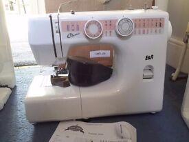 E & R Classic Sewing Machine model number KP1000