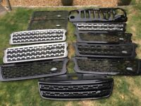 Rang Rover, Defender and Sport grills
