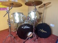 Drum kit- cymbals all zildjan