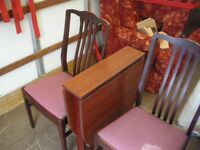 MINI FOLDING TABLE AND 2 CHAIRS