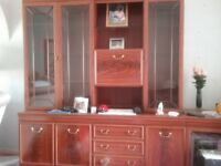 WALL UNIT 6' X 6' FREE GOOD CONDITION SEPARATES INTO TWO SECTIONS NEED GONE ASAP
