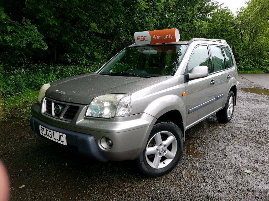 nissan x trail 2003 2 owners diesel 4x4 mot june 2018. Black Bedroom Furniture Sets. Home Design Ideas