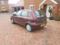 2003 Vauxhall Corsa 1.2 16v 5 Door *1 Years Mot*