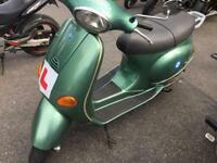 Vespa ET4 125cc learner legal