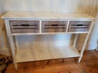 Console Table 3 Drawers.