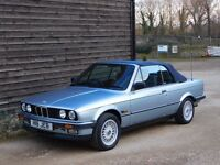 E30 325i H 1991 76,000 Miles Genuine Full Bmw Service History Automatic Cabriolet NOT MOTORSPORT