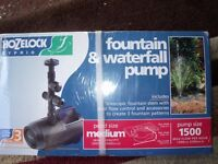 HOZELOCK MAINS FOUNTAIN & FEATURE PUMP 35W