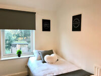 Single room in friendly house share, most bills inclusive of rent, no deposit!