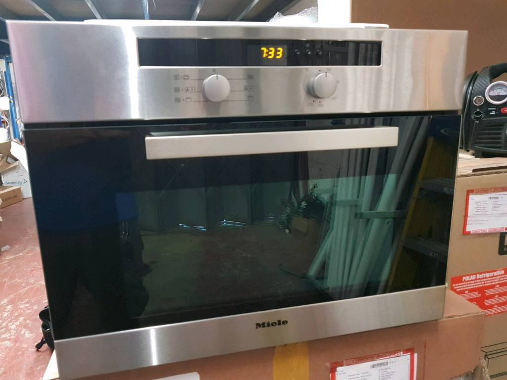 Miele H4020bm Combination Microwave Oven In Watford