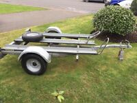 Motocross bike trailer