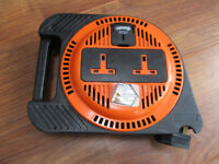 PLASPLUGS LTD 10 METRE? 2 WAY 13 AMP ELECTRIC EXTENSION CABLE REEL