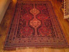 2 Persian rug/carpet, antique, Heriz, over 160 years old, £1000 , Wimbledon
