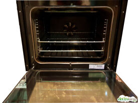 AEG D57014 Electric Bulit-in Double Oven, Stainless Steel