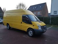 FORD TRANSIT JUMBO 115BHP T350 6 SPEED MANUAP PERFECT BODYWORK DRIVES MINT 4 NEW TYRES CLEAN VAN