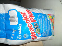 Mapei Silver Grey Ultracolor Plus 5kg Flexible Grout Unopened