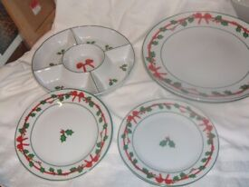 Christmas Serving Dishes