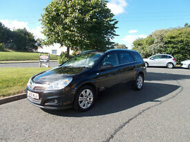 VAUXHALL ASTRA DESIGN ESTATE AUTOMATIC STUNNING BLACK 2008 ONLY 29K MILES BARGAIN 2950 *LOOK*
