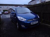 2012 Hyundai i10 Active, 5 door hatchback.