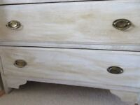 Vintage two drawer chest