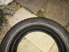 Four Pirelli winter tyres