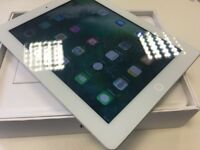Apple iPad 4 - 16GB - Silver - Cellular Vodaone - Only £145 - Perfect Condition! - Boxed