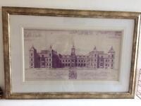 Laura Ashley picture frame and picture