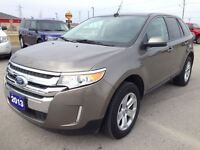 2013 Ford Edge SEL, LTHR, PANO ROOF, LOCAL TRADE IN!