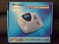 Body Fat / Hydration Monitor Bathroom Scales - Boxed