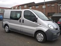 vauxhall vivaro 1870 td cti - fitted with new engine in 2012 - mot'd may 2017