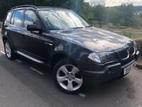 2005 BMW X3 2.0D SE 4WD 6 speed manual # full leather # parking sensors