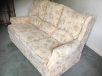 Settee & reclining chair