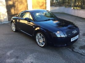 Audi TT coupe Quattro 4x4, leather, FSH very good condition
